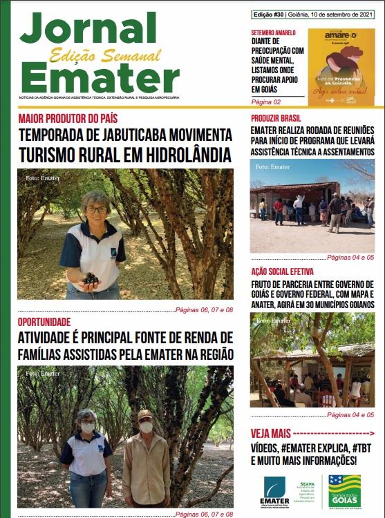 30ª edição do Jornal Emater